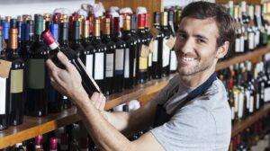 Wine Merchant - choose Christmas wine