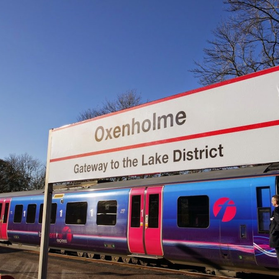 Oxenholme the Lake District station