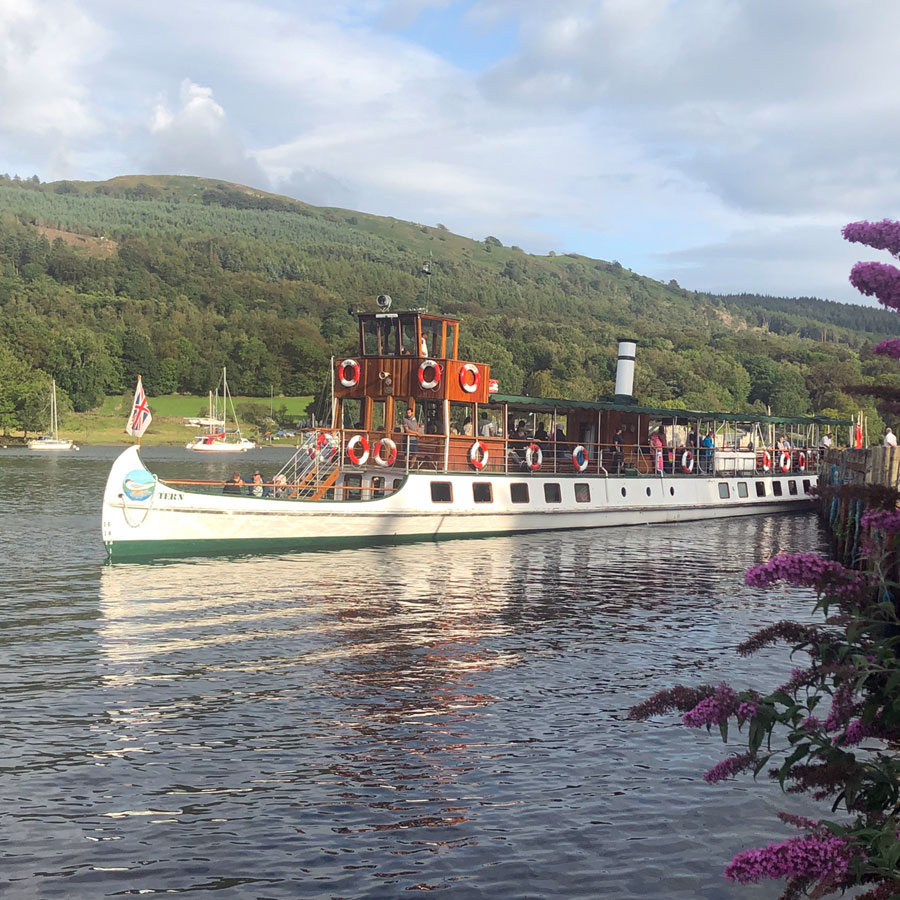 Windermere Lake Cruises Steamer sq