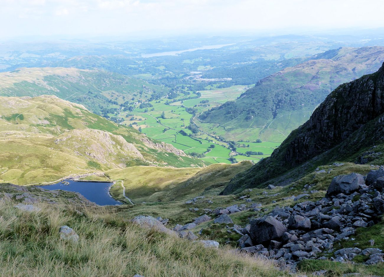 Stickle Tarn from Harrison Stickle